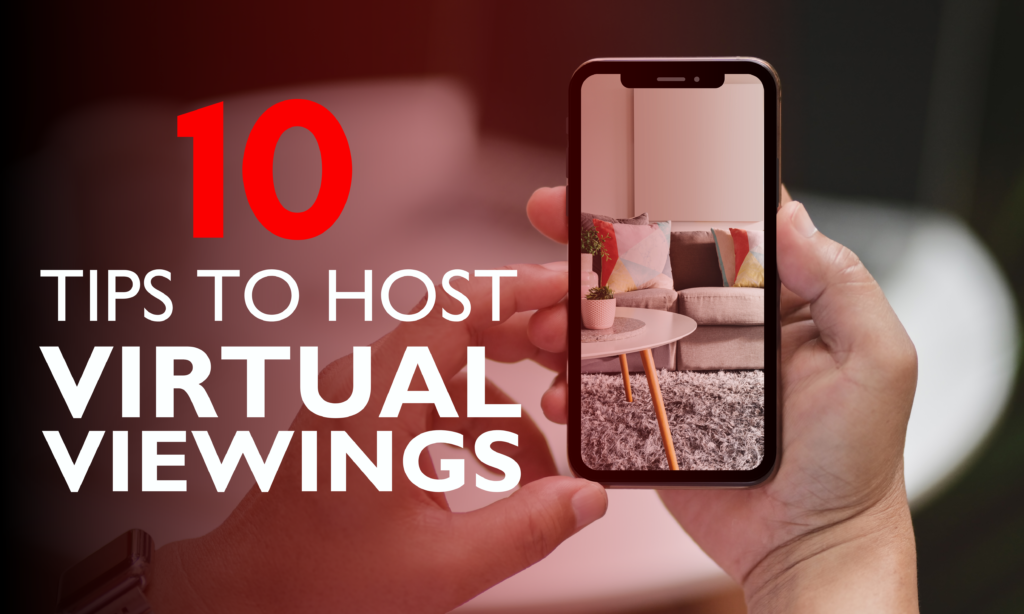10 TIPS TO HOST A VIRTUAL VIEWING