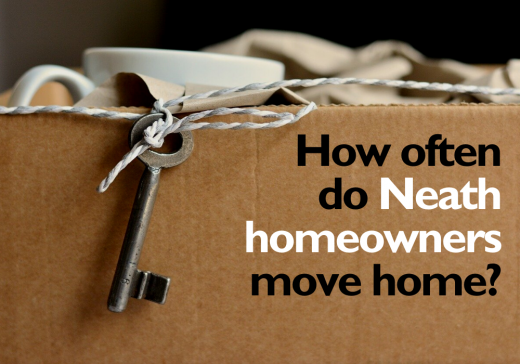 How often do Neath homeowners move home?