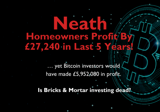 Neath Homeowners Profit By £27,240 in Last 5 Years …